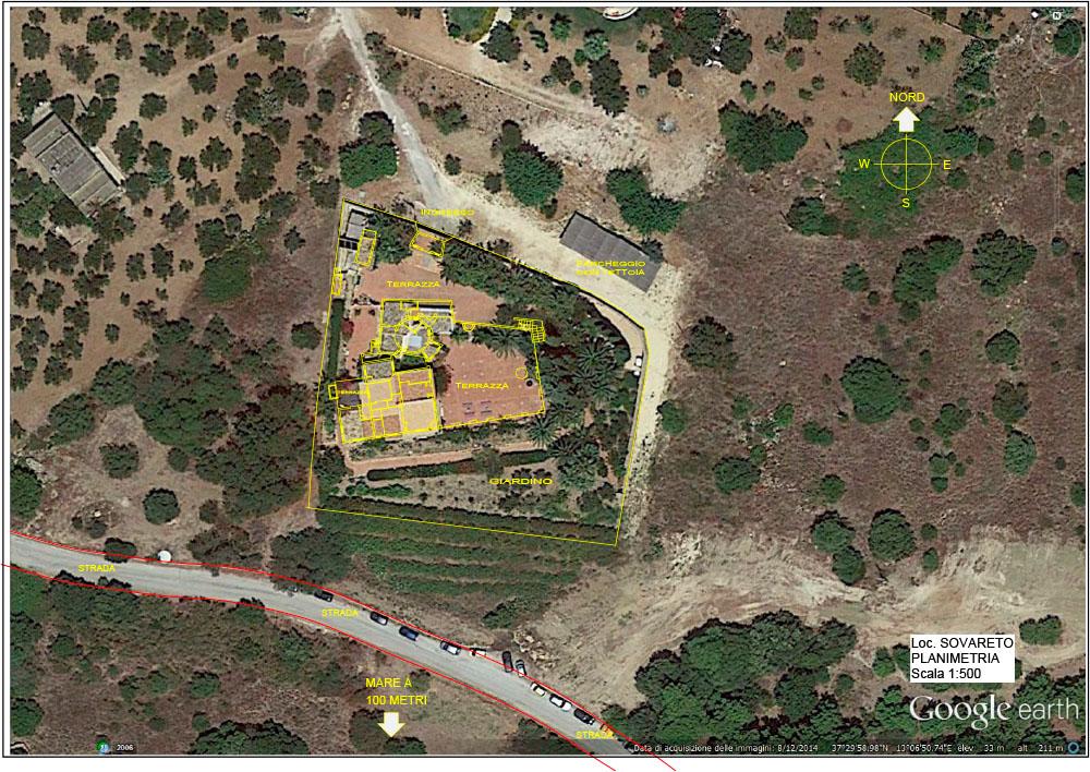 planimetria google scala 1 500 architetti bernardi cortina
